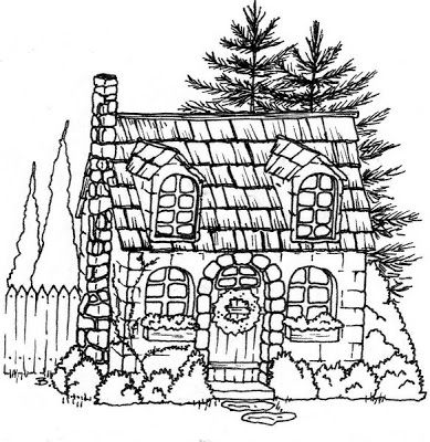 17+ best images about Houses Illustrations Exteriors Black