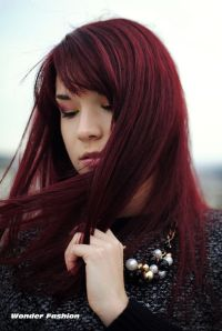 Dark Cherry Red Hair | ve stepped into the dark side ...