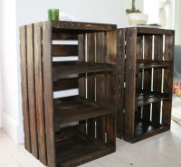 WOOT! Just got these for our bedroom. Wood Crate Handmade ...