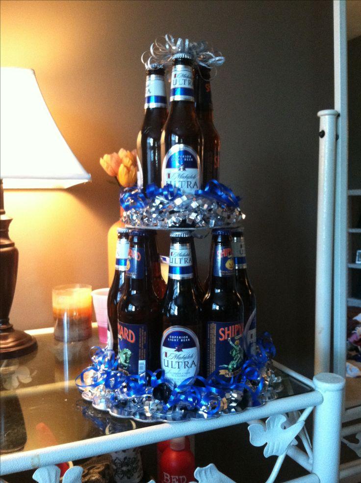 Beer Bottle Cake I Made For Matt S Birthday Crafts