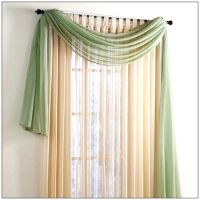 Swag Window Treatment Ideas | Window Scarves Scarf Valance ...