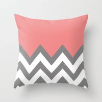 25+ best ideas about Coral chevron bedding on Pinterest ...