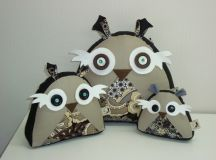 More owls watching with their vibrant eyes! | Decor ideas ...