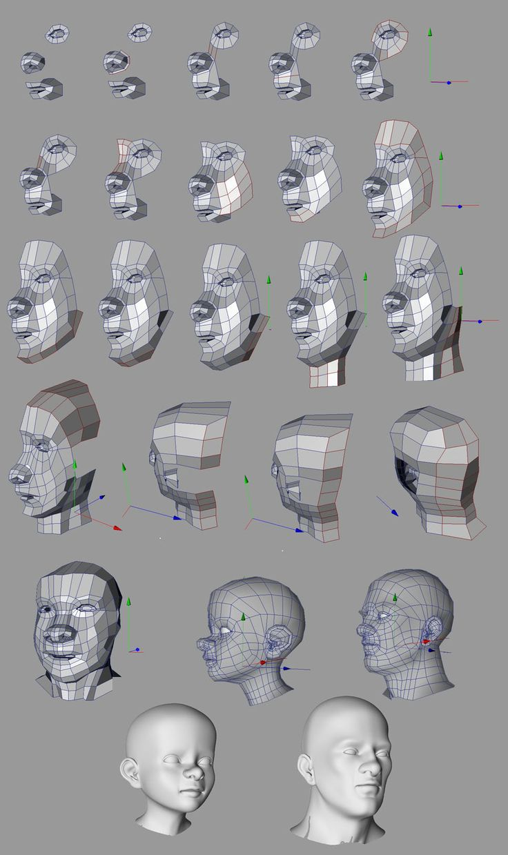 230 best images about 3d Topology & Edge Flow on Pinterest