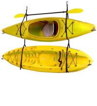 The Gear Up Hang-2 kayak storage strap system is a simple ...