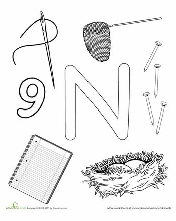 1000+ images about Letter N Crafts on Pinterest
