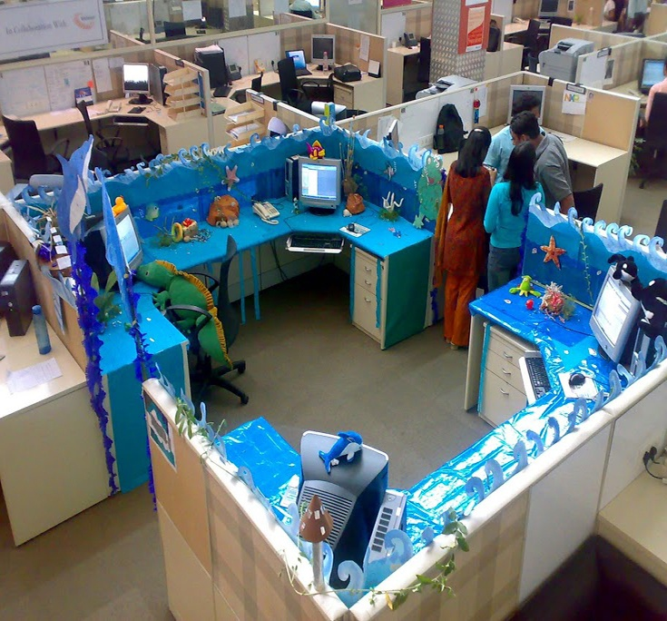 81 Best Images About Cubicle Decorating On Pinterest