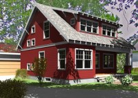 red exterior color | house exterior color | Pinterest ...