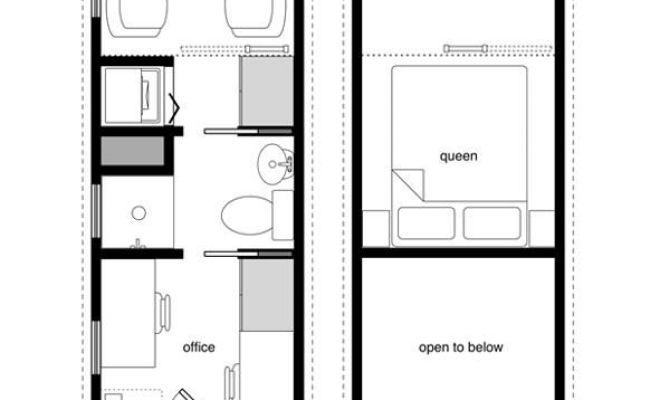 8x24 Floor Plan Tiny House Pinterest Boats Tiny