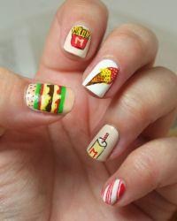 Fast Food Nail Designs | www.imgkid.com - The Image Kid ...