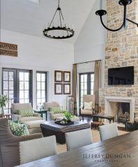 25+ best ideas about Modern Stone Fireplace on Pinterest