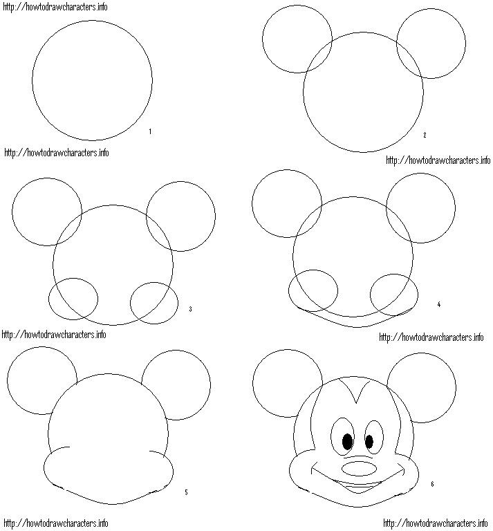 28 best images about Mickey mouse en Minnie mouse tekenen