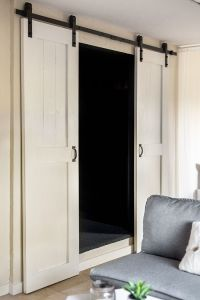 closet barn door ideas  Roselawnlutheran