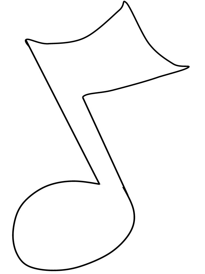 17 Best images about musical note templates on Pinterest