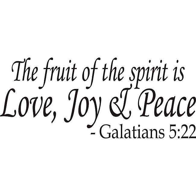 25+ best ideas about Fruit of the spirit on Pinterest