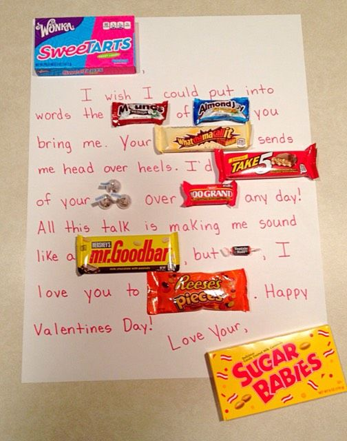 Valentines Day Candy Card Simple Amp Sweet The Ultimate