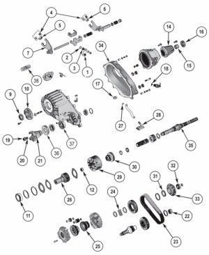 7 best images about Jeep Transfer Case Parts on Pinterest