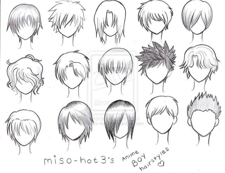 25 Best Ideas About Anime Boy Hair On Pinterest Manga