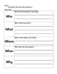 All Worksheets  Reading Comprehension Template Worksheets ...