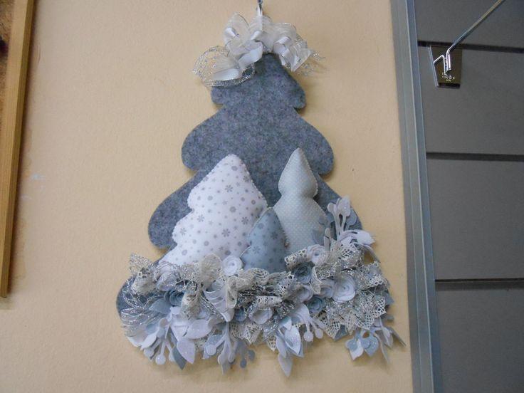 albero di Natale in feltro  NATALE  Pinterest  Natale