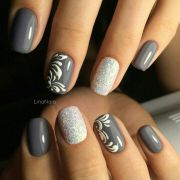 ideas line nail design