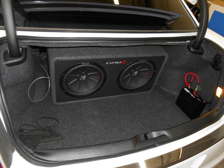kicker comp 12 wiring diagram 2000 mitsubishi montero sport 3 0 engine 2 r subwoofer hooked up to a 1200 watt amp and sk-bt20 battery installed in ...
