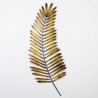 Metal Palm Leaf Modern Wall Art This piece of wall art ...