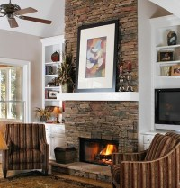 40 Stone Fireplace Designs From Classic to Contemporary