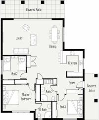 This is a bad floor plan the dining table is too close to