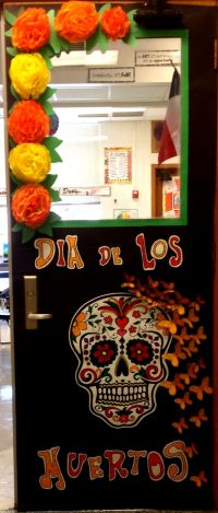 Day of the dead door decoration | Teaching Ideas ...