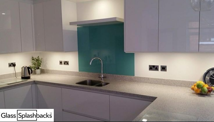 Duck egg glass splashback Not limited to behind cookers