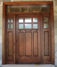 Best 25+ Craftsman style front doors ideas on Pinterest