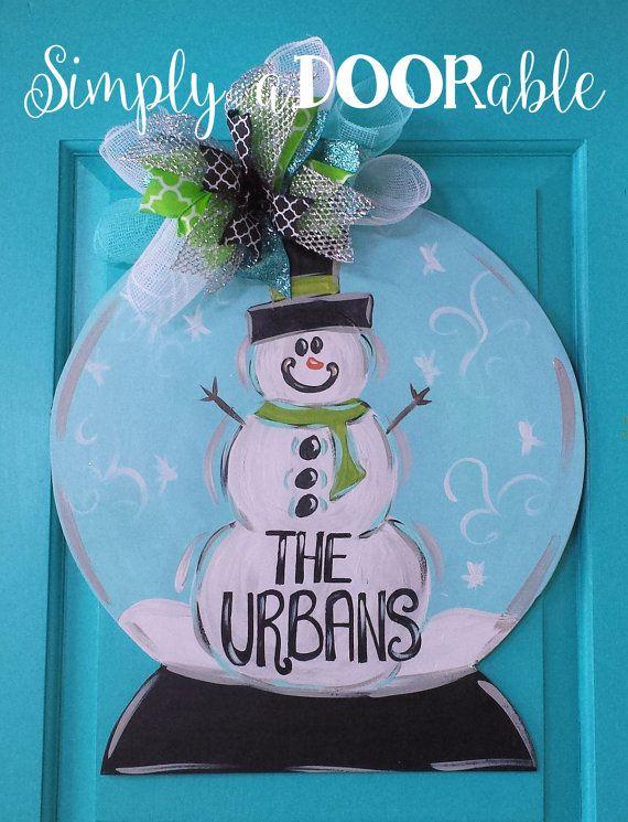 25+ Best Ideas about Snowman Door on Pinterest