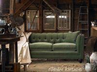 Rustic Barn Find   Stevens sofa in green velvet by Robin ...