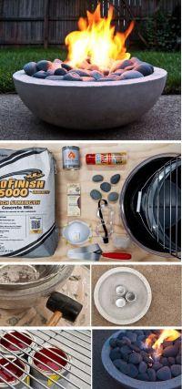 17 Best ideas about Concrete Fire Pits on Pinterest   Diy ...