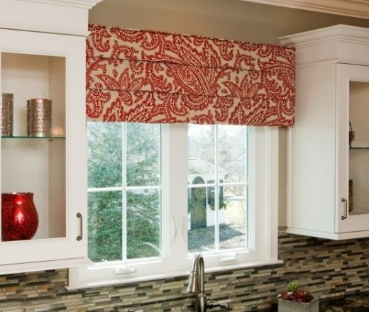 valance for kitchen window best name brand appliances cornice board over sink | the home ...