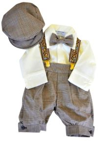 Infant & Toddler Boys Vintage Style Knickers Outfit ...