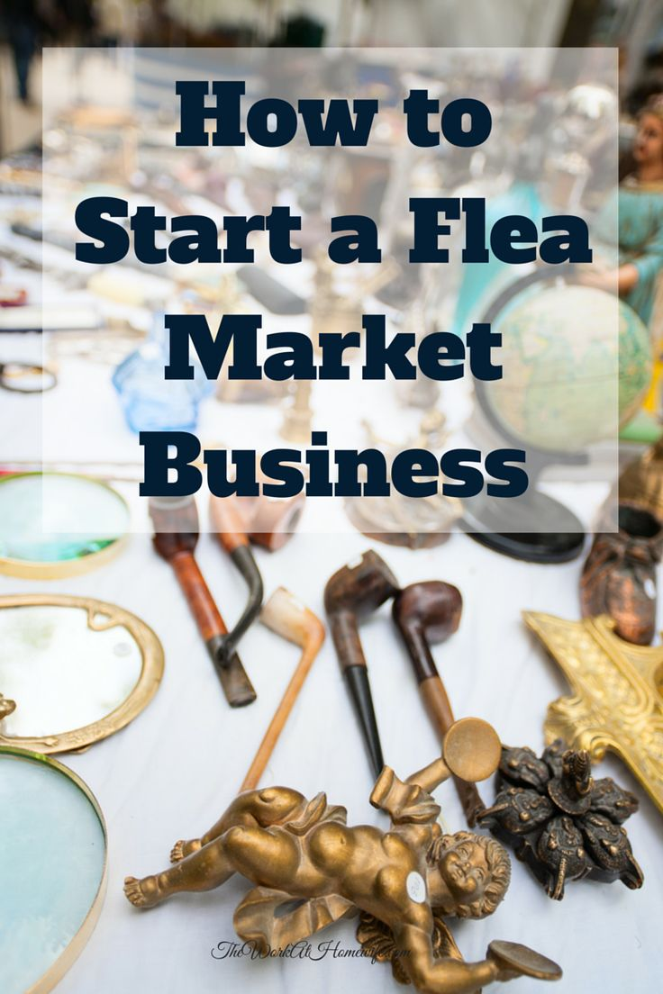 Flea markets and swap meets are big business these days. Before you start a flea market business however, there are a few things