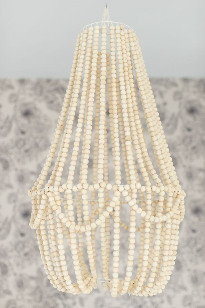 Best 25+ Wood Bead Chandelier ideas on Pinterest