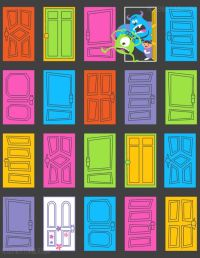 Best 20+ Monsters inc doors ideas on Pinterest
