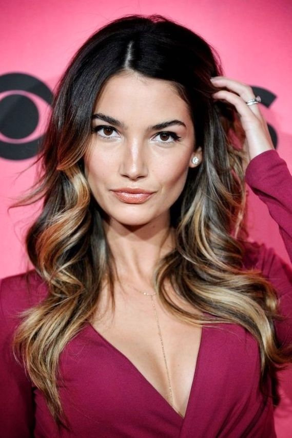 Lily Aldridge Make Up And Hair Lily Aldridge