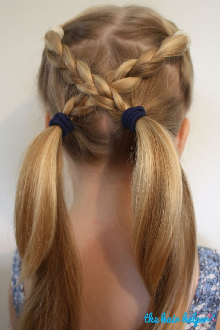 25 Best Ideas about Easy Kid Hairstyles on Pinterest  Braids for kids Little girl braids and