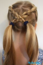 ideas easy kid hairstyles