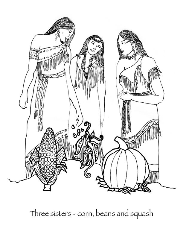 Three beautiful Wampanoag Native American women discuss
