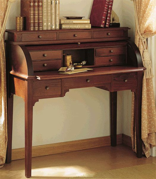 Escritorio Bureau Con Persiana Deis mueble para el