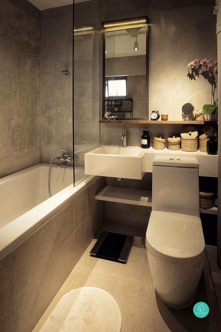 9 HDB Bathroom Transformations For Every Budget  Vanities