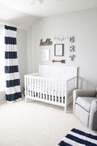 Graham's Nursery Reveal || Neutral Baby Boy Nursery | Baby ...