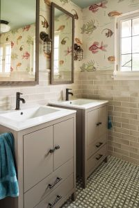 fish wallpaper | Renae Keller Interior Design ...