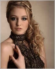 prom hair styles strapless