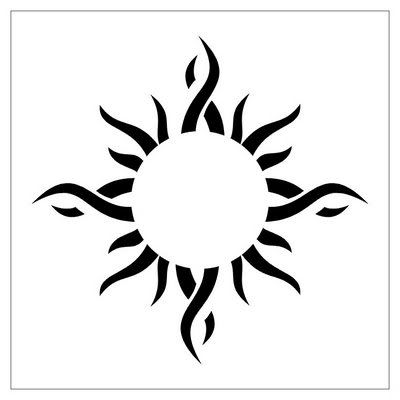 20 And Tattoos Sun Tribal Moon Ppacemat Ideas And Designs